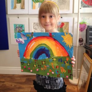 KINDER ART CLASSES 2