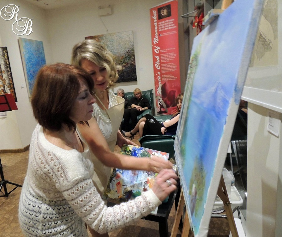 Master classes and workshops green lion arts studio for Canvas painting classes
