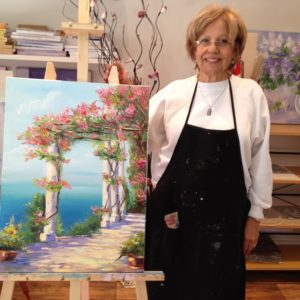 MASTER CLASSES FOR ADULT. OIL PAINTING 4