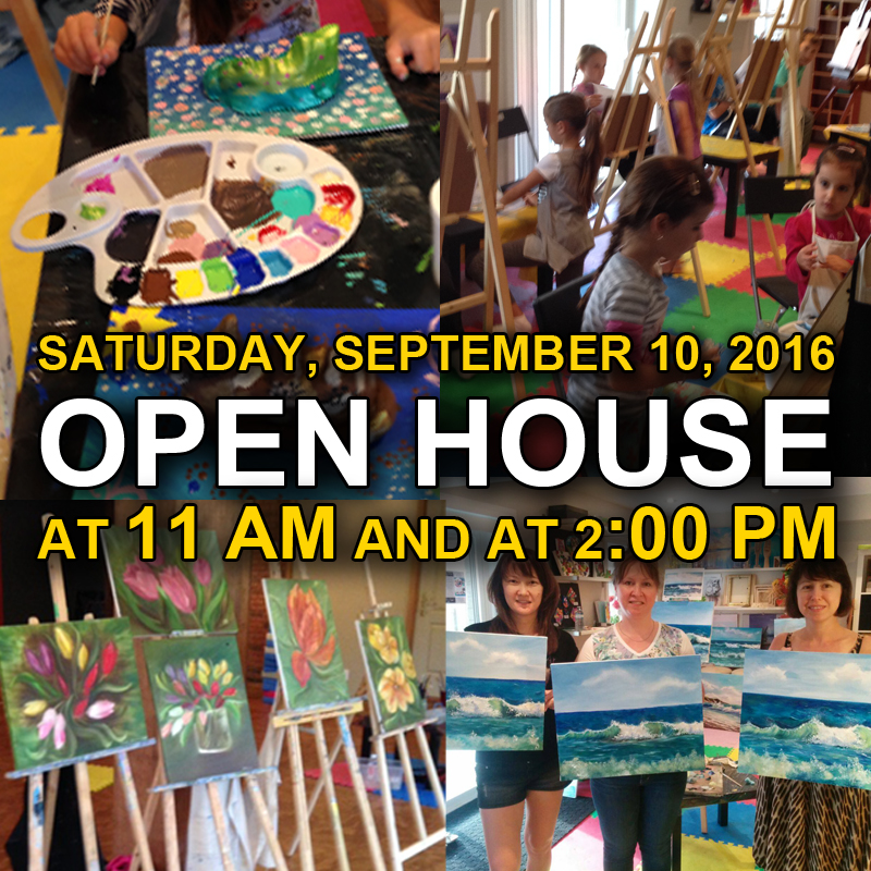 Open House, Sep 10, 2016