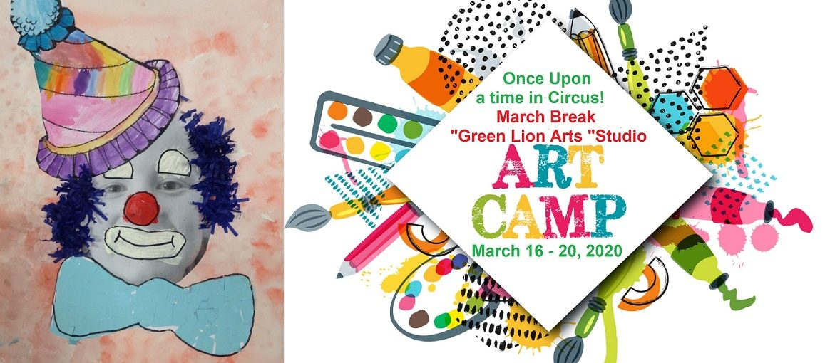 "March Break Art Camp in ""Green Lion Arts ""Studio"